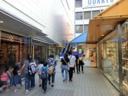 モザイク通り2 新宿駅西口記事