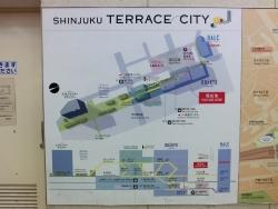 新宿テラスシティー 新宿駅西口記事