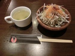 スープとサラダ 銭場精肉店