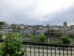 池田山公園から見た窪地 五反田駅界隈散策2