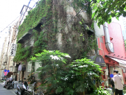 レトロ感のあるレストラン 五反田駅界隈散策2