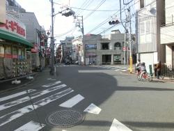 変形の四つ辻 武蔵小山散策2