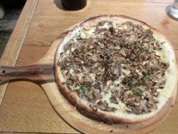 トリュフ香るバルサミコマッシュルームピザ ラテグラフィック記事