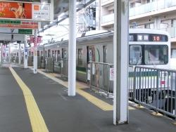 東急池上線 3両車両 五反田駅界隈散策1