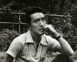三嶋由紀夫 31歳 1956年 自由が丘芸能人自宅とレスストラン・カフェ2