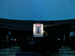室内の様子 羽田空港プラネタリウムカフェ