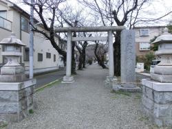碑文谷八幡宮 碑文谷・柿の木坂散策1