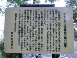 すすめのお宿緑地公園の由来 碑文谷・柿の木坂散策1