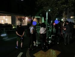 伊勢谷友介 逮捕後のマンション前の様子 碑文谷・柿の木坂散策1