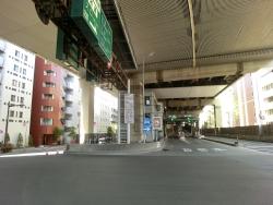 箱崎ジャンクション入り口 日本橋蛎殻町散策2