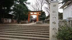旗岡八幡神社 西小山→荏原町散策3