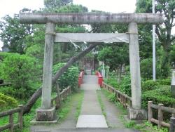 碑文谷公園 厳島神社 碑文谷・柿の木坂散策4