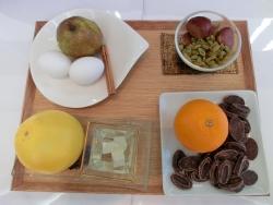 4種類のデザートの材料 シェ・トモ記事