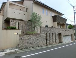 大和田獏・岡江久美子夫妻の自宅1 尾山台・等々力散策1