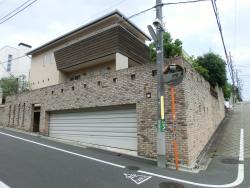 大和田獏・岡江久美子夫妻の自宅2 尾山台・等々力散策1