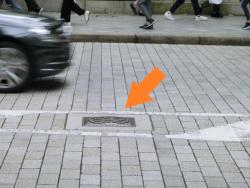 本物の道路元標 橋梁としての日本橋1
