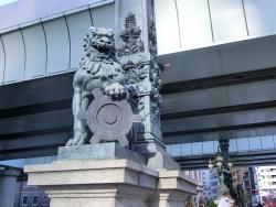 獅子像 橋梁としての日本橋2