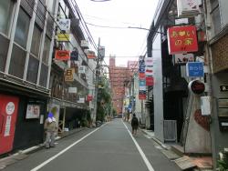 新宿2丁目の様子 ゲイタウンとお寺記事2
