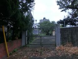 駒沢給水塔の門 桜新町・深沢散策1