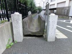 新宿高校 構内2 新宿の渋谷川上流記事1