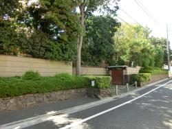 小沢一郎の自宅2 桜新町・深沢散策2