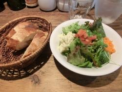 サラダとフランスパン ゴンアルブル記事