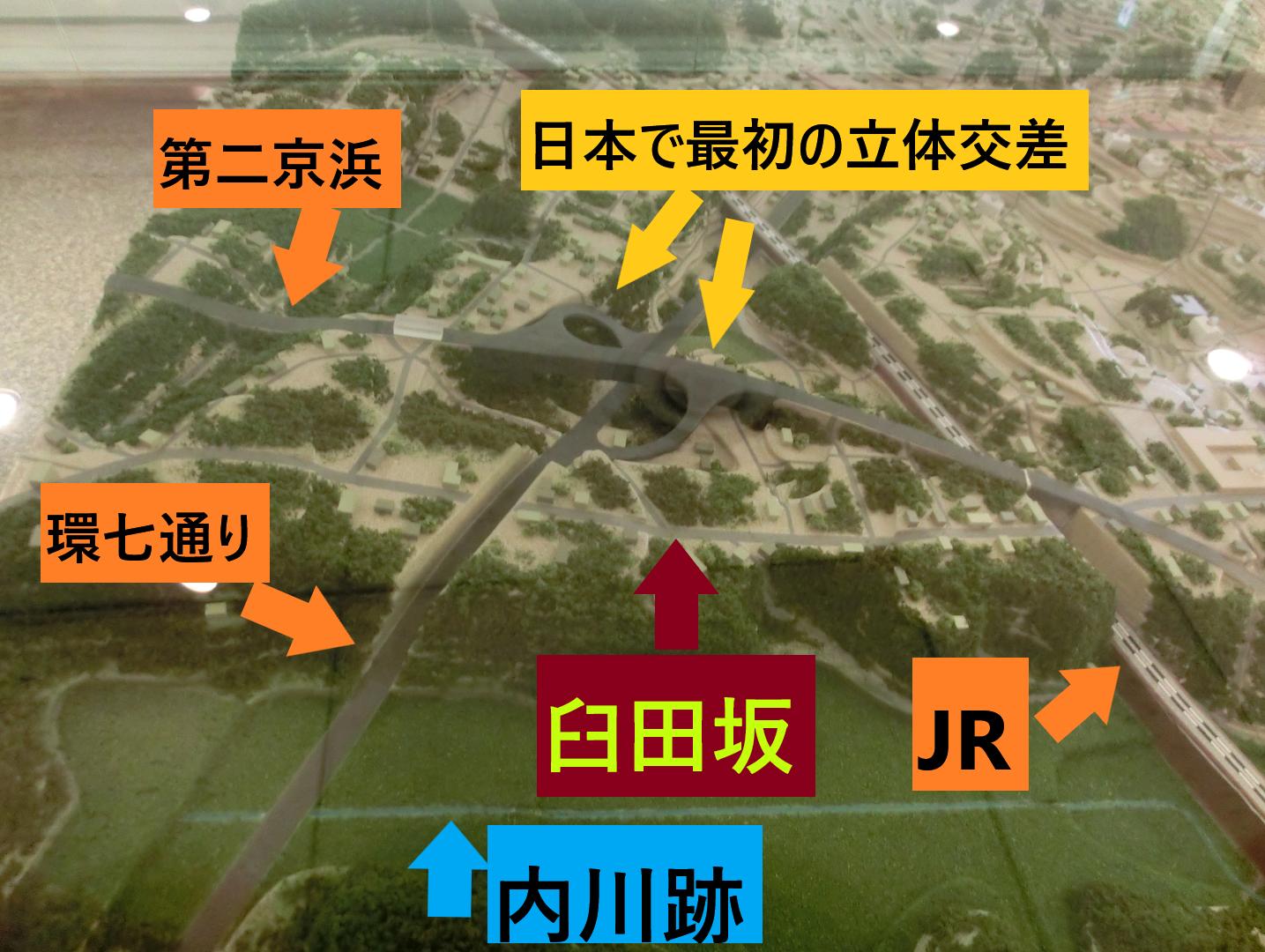ジオラマ 臼田坂散策1