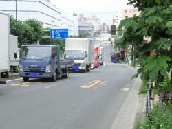 馬込駅から内川方面を見る 臼田坂散策1