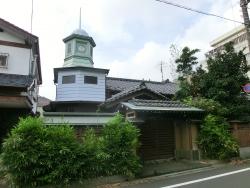 時計台のある旧家1 臼田坂散策2