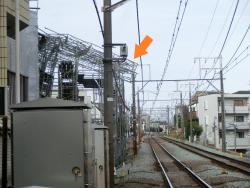 先日の東急東横線事故現場 サン・マキアージュ記事