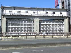 日本橋水門 新川散策1