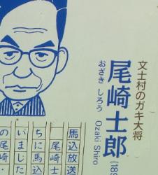 尾崎士郎旧宅跡2 臼田坂散策3