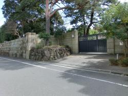 ユニクロ柳井社長邸宅1 三田用水散策2