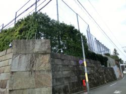 ユニクロ柳井社長邸宅2 三田用水跡散策2