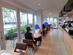 室内の様子 トライアングルカフェ記事