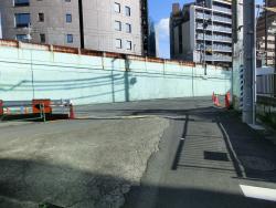 首都高速道路に分断される 三田用水散策4