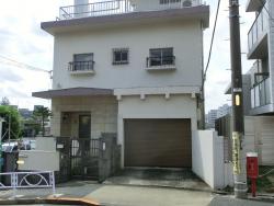 金田正一の自宅 三田用水散策4