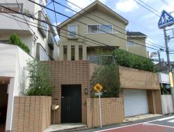 森尾由美の自宅1 三田用水散策4