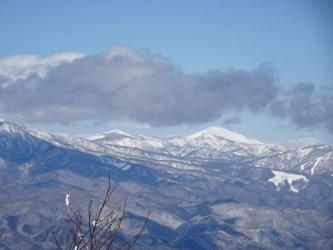 至仏山、尾瀬笠ヶ岳