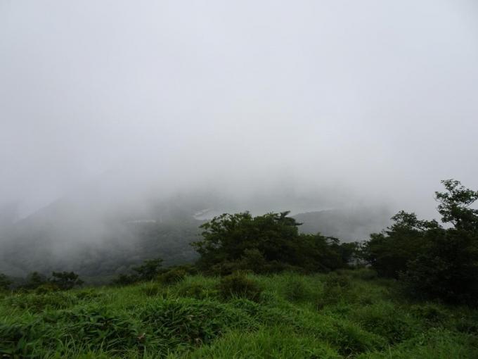 押し寄せる霧