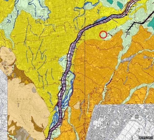 治水地形分類図更新版(2007-2019年)トイシカラメム
