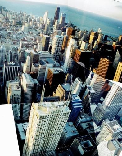 シカゴ シアーズタワーからの眺め 1996年