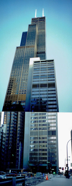 シカゴ シアーズタワー 1996年