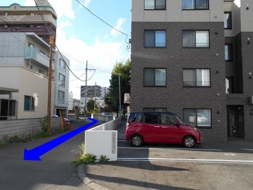北2条西21、22丁目 指定道路-2
