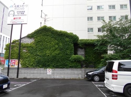 大通東4丁目 壁面緑化建物