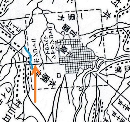 札幌区史 札幌郡西部図リライト ホンコトニ