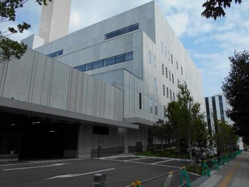 NHK札幌 新放送会館 西側面