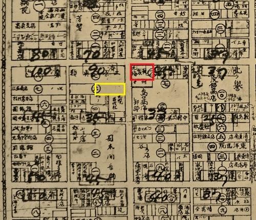 最新調査札幌明細案内図1928年 南3東2あたり 北海製靴
