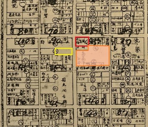 最新調査札幌明細案内図1928年 南3東2 島口商店