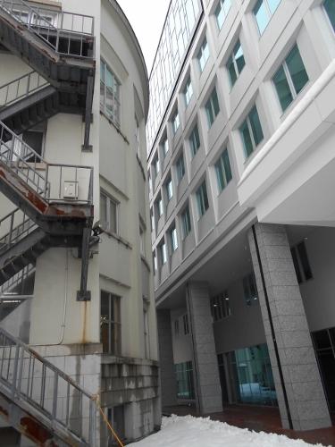 道議会 新旧庁舎